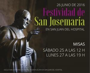 FESTIVIDAD San Josemaria