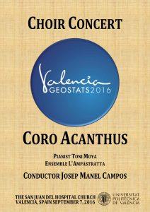 Poster Concierto Acanthus