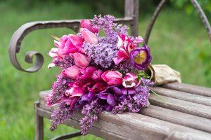 violett Bouquet