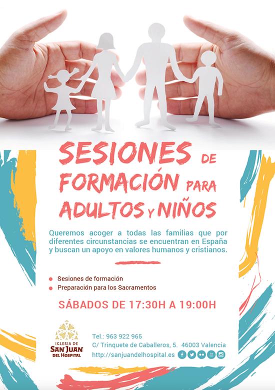 Sessions de formation familles