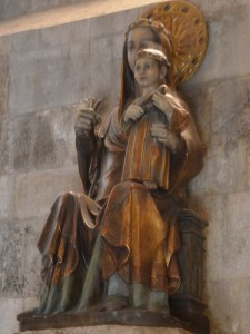 Virgen del Milagro (presbiterio)