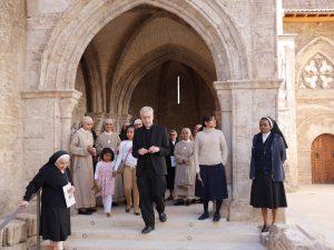 religiöser Besuch