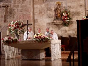Misa Aniversario reapertura al culto