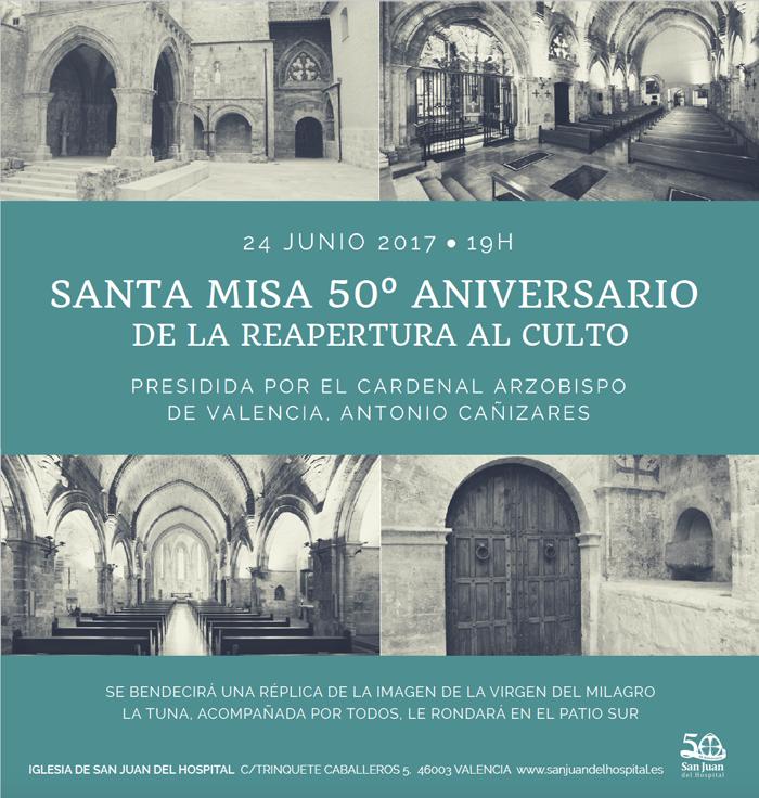 50 годовщина поклонения открытие