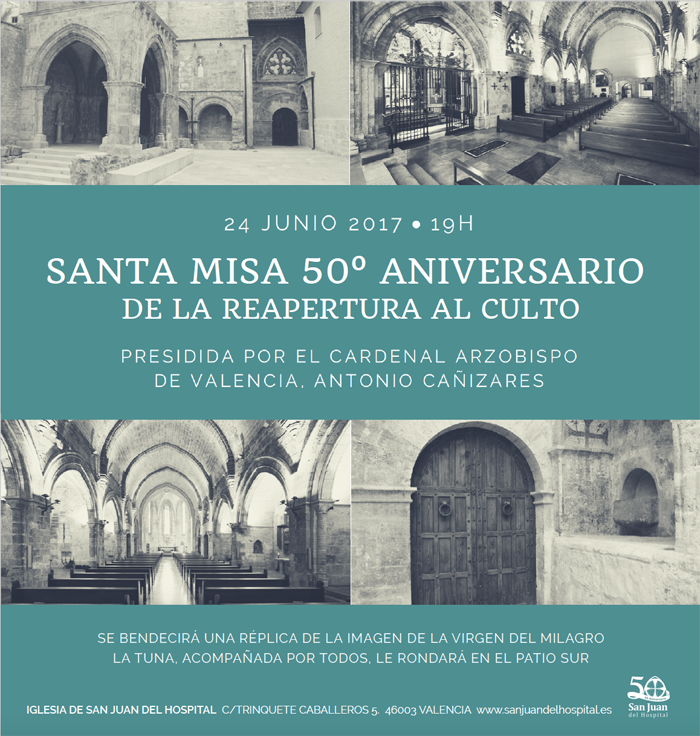 50 aniversari reobertura culte