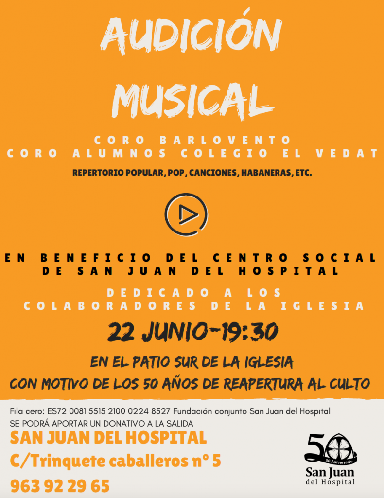 Audición Musical 22 de junio