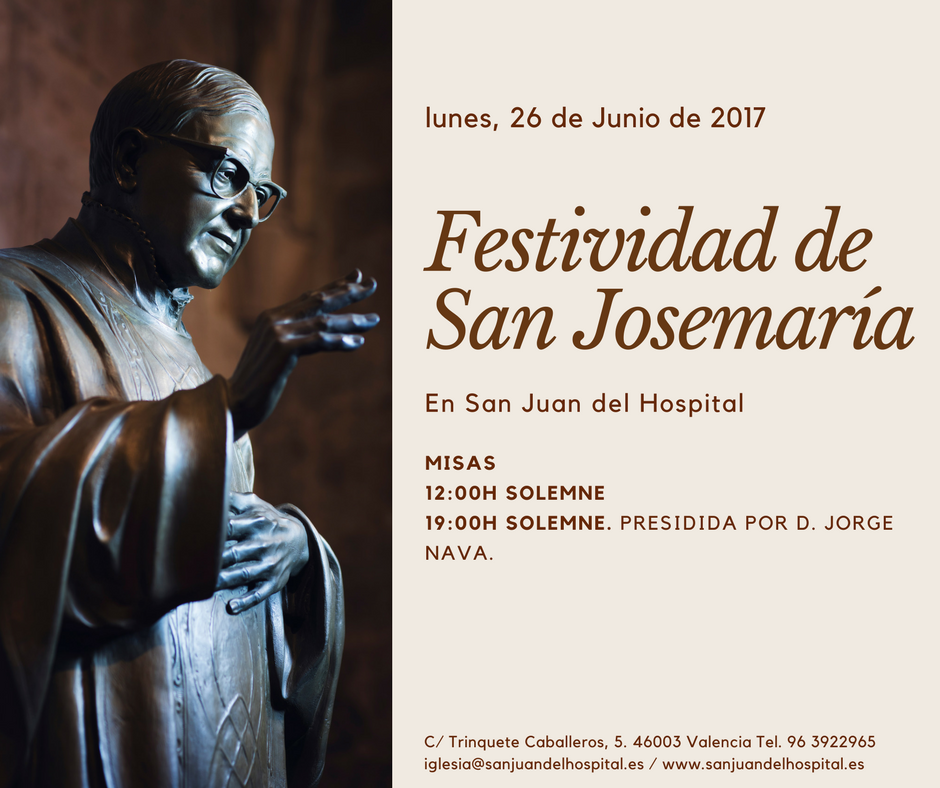 San Josemaria 2017
