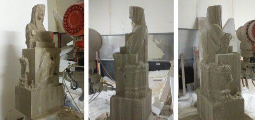 Replica Virgen del Milagro