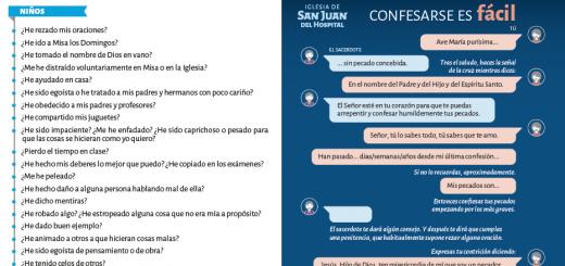 Confesarse