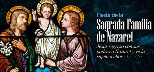 solemnitat-festa-de-la-sagrada-família-de-Natzaret