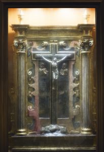 Legno croce Sacristía