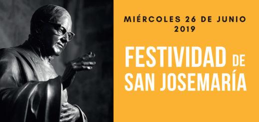 Festividad San Josemaria 2019_